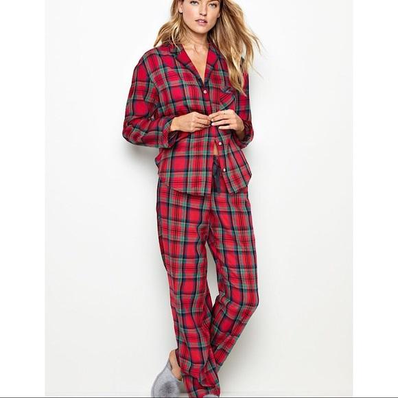 580c96851 Victoria s Secret Flannel PJ Set. M 5ad55e9cdaa8f604a1610dbe